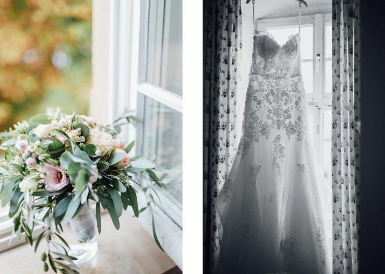 Hochzeitsfotos-Landgut-Schloss-Michelfeld-Hochzeitsreportage-Angelbachtal-034-Brautkleid-Tattoospitze-Brautstrauss