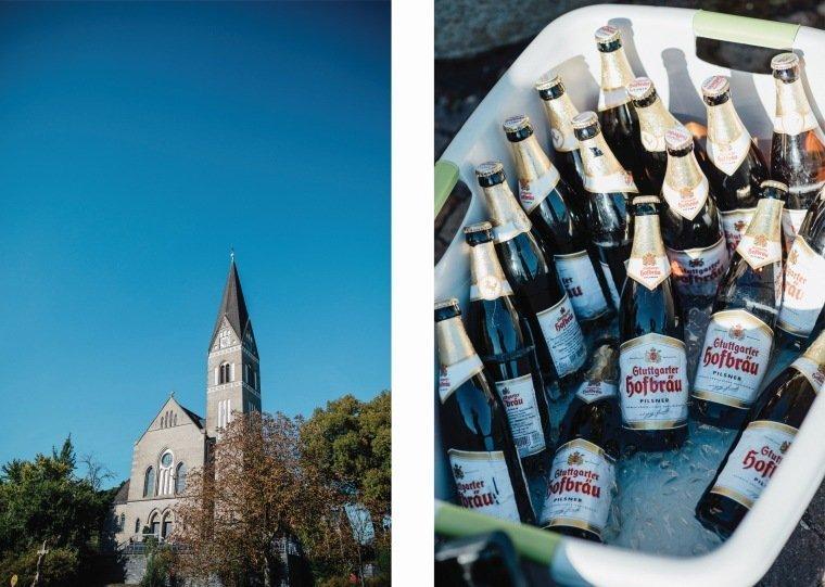 Hochzeitsfotos-Hochzeitsreportage-074-Kirche-Sektempfang-Bier