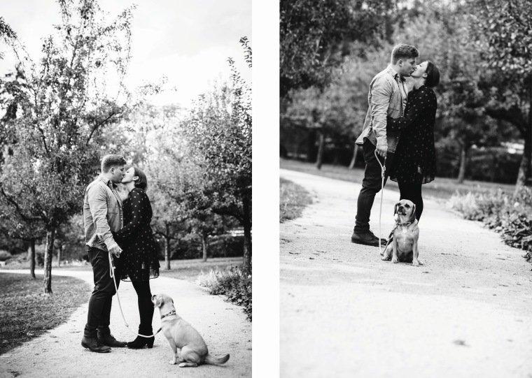 Paarfotos-Verlobung-Engangement-Shooting-Heilbronn-Botanischer-Garten-022-Paar-Hund