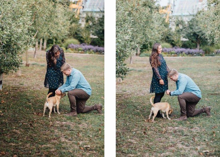 Paarfotos-Verlobung-Engangement-Shooting-Heilbronn-Botanischer-Garten-025-Verlobungsring-Halsband-Hund-Antrag
