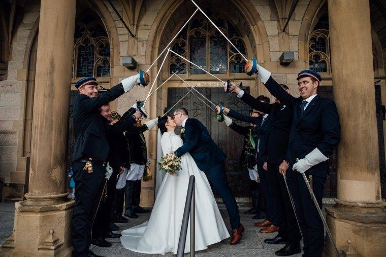 Hochzeit mit Studentenverbindung