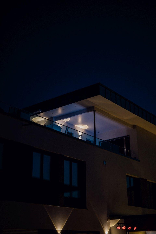 Nachtansicht-Hochzeitslocation