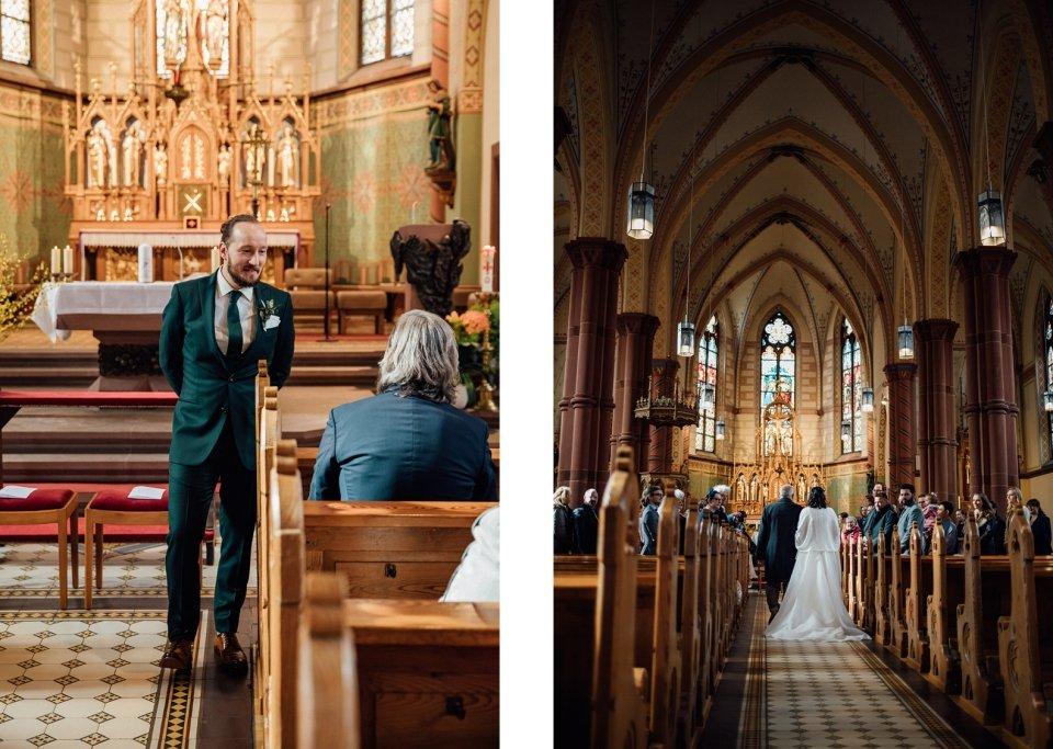 Bräutigam Hochzeit Kirche Speyer