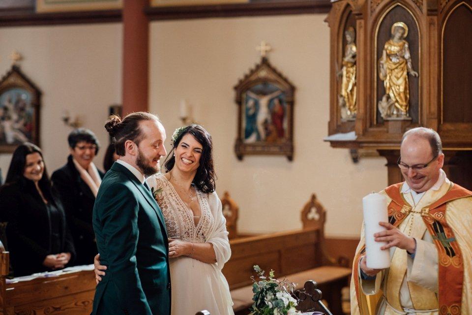 Kirchliche Trauung Hochzeitsfotografie Speyer