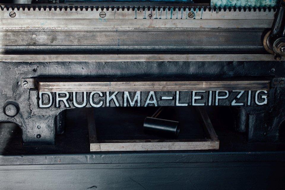 Druckmaschine Druckladen Gutenbergmuseum