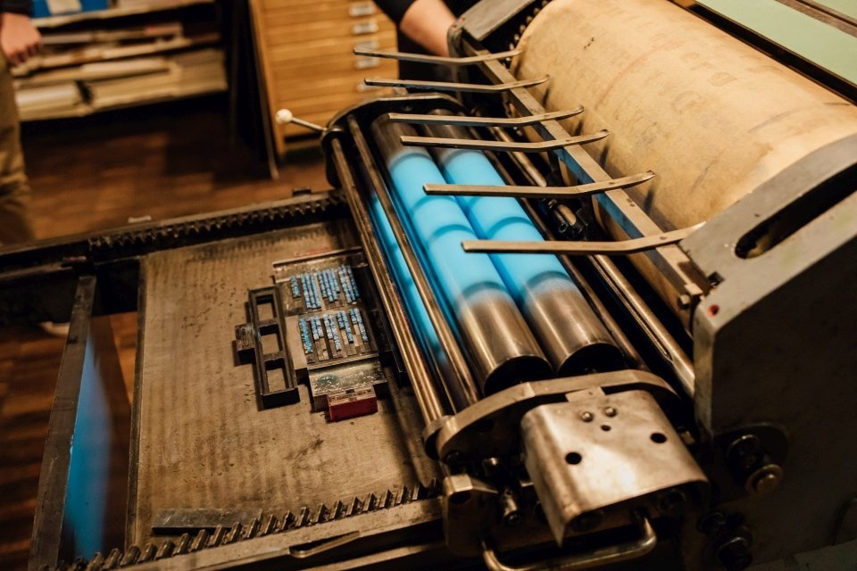 Druckerpresse Druckladen Gutenbergmuseum