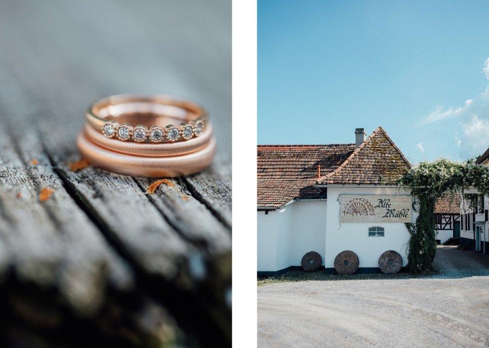 Hochzeit in der Pfalz alte Mühle
