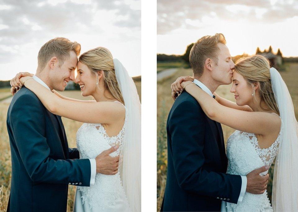 Brautpaar-Sommerhochzeit-Hochzeitsreportage-004-Paarfotos-Sonnenuntergang